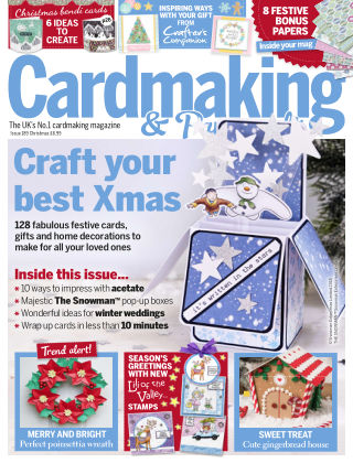 Cardmaking and Papercraft Christmas2018