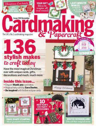 Cardmaking and Papercraft December2018
