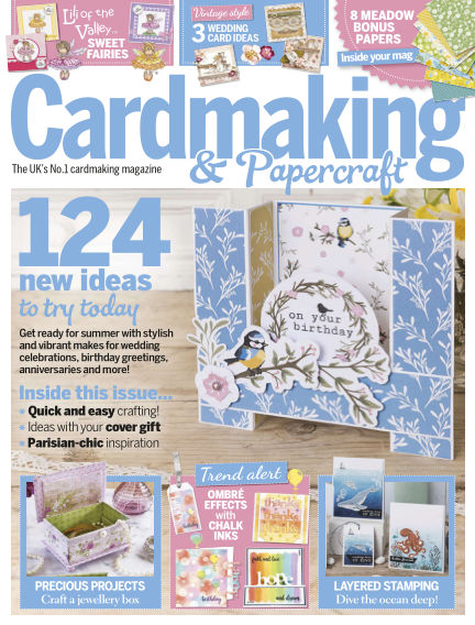 Cardmaking and Papercraft May 09, 2019 00:00