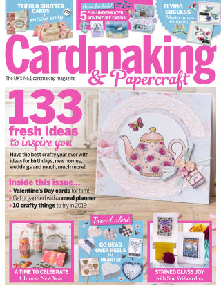 Cardmaking and Papercraft January2019