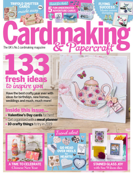 Cardmaking and Papercraft December 20, 2018 00:00