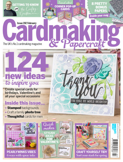 Cardmaking and Papercraft January 17, 2019 00:00