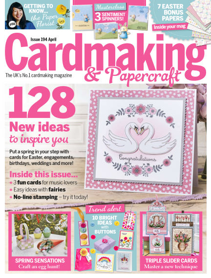 Cardmaking and Papercraft March 14, 2019 00:00