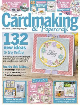 Cardmaking and Papercraft August2019