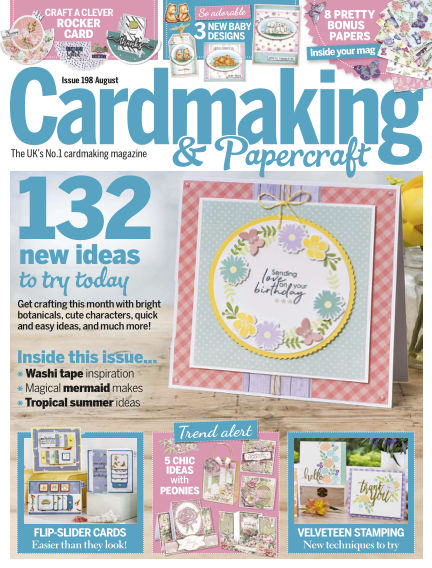 Cardmaking and Papercraft July 04, 2019 00:00