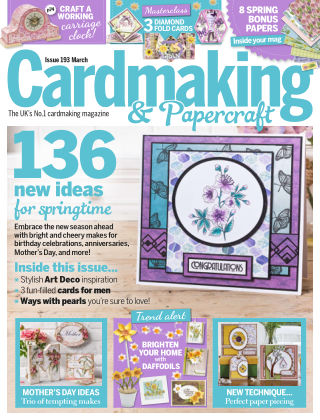 Cardmaking and Papercraft March2019