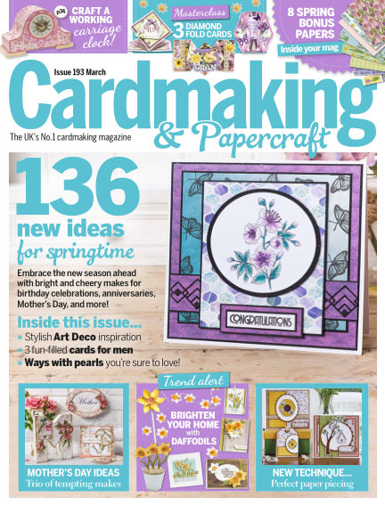 Cardmaking and Papercraft February 14, 2019 00:00
