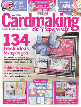 Cardmaking and Papercraft May2019
