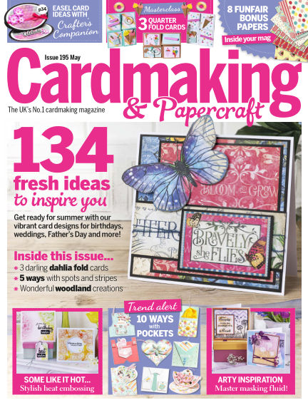 Cardmaking and Papercraft April 11, 2019 00:00