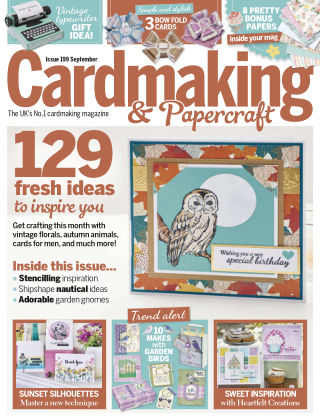 Cardmaking and Papercraft September2019