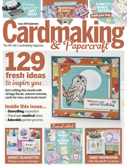 Cardmaking and Papercraft August 01, 2019 00:00