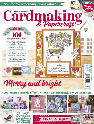 Cardmaking and Papercraft November2019