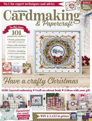Cardmaking and Papercraft Christmas2019