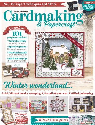 Cardmaking and Papercraft December2019