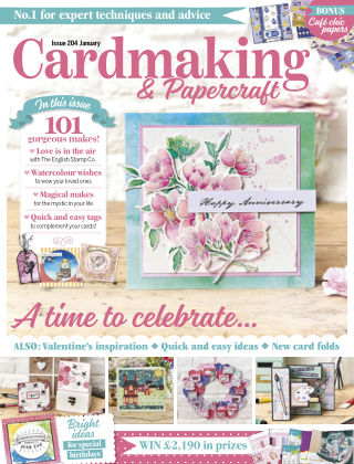 Cardmaking and Papercraft January2020