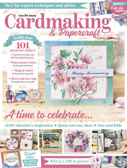 Cardmaking and Papercraft December 19, 2019 00:00