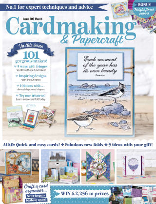 Cardmaking and Papercraft March2020