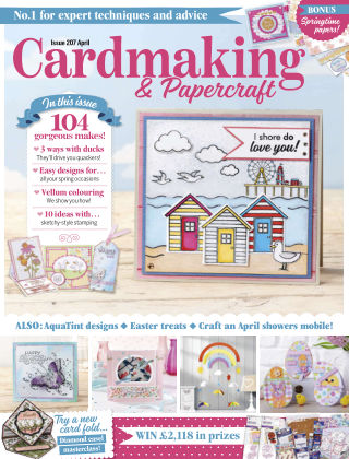 Cardmaking and Papercraft April2020