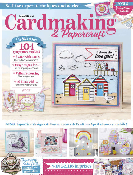 Cardmaking and Papercraft March 19, 2020 00:00
