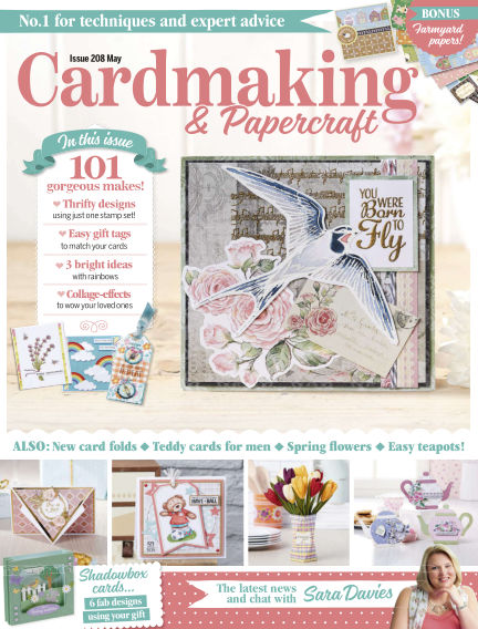 Cardmaking and Papercraft April 16, 2020 00:00