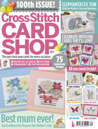 Cross Stitch Card Shop Jan 2015