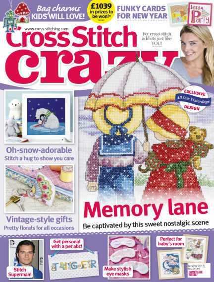 Cross Stitch Crazy November 27, 2014 00:00