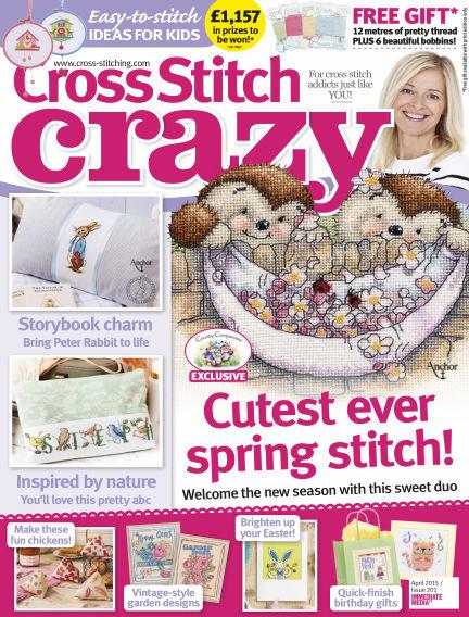 Cross Stitch Crazy February 24, 2015 00:00