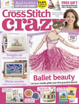 Cross Stitch Crazy Jan 2016