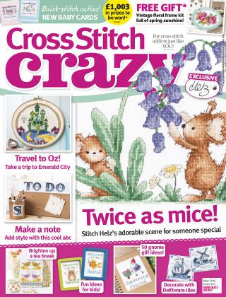 Cross Stitch Crazy May 2016