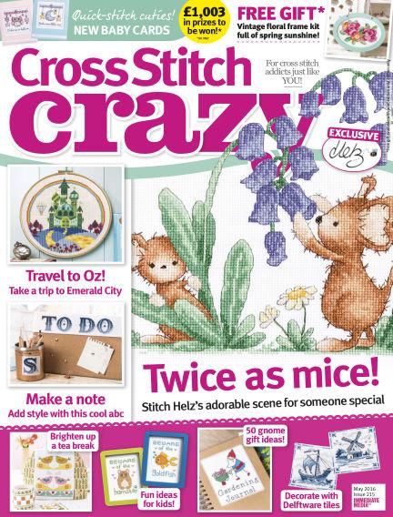 Cross Stitch Crazy March 17, 2016 00:00