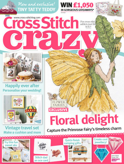 Cross Stitch Crazy April 14, 2016 00:00