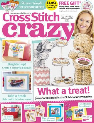 Cross Stitch Crazy August 2016