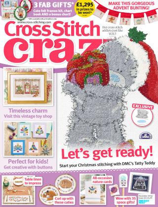 Cross Stitch Crazy Nov 2016