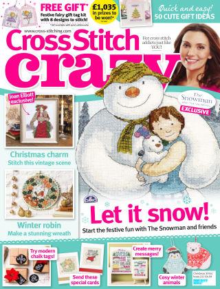 Cross Stitch Crazy Dec 2016