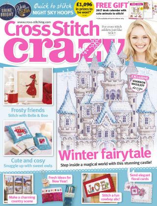 Cross Stitch Crazy Jan 2017