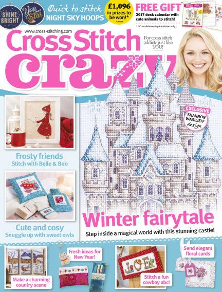 Cross Stitch Crazy November 24, 2016 00:00