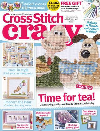 Cross Stitch Crazy Jun 2017