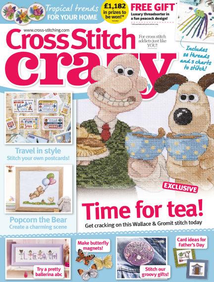Cross Stitch Crazy April 13, 2017 00:00