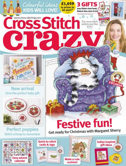 Cross Stitch Crazy August 31, 2017 00:00