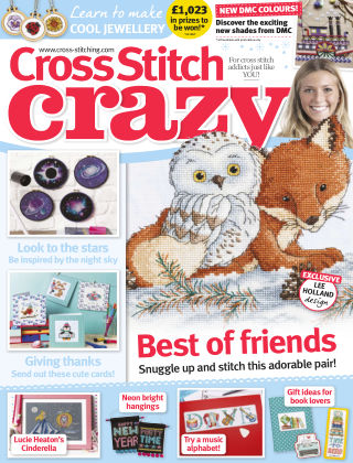 Cross Stitch Crazy January 2018