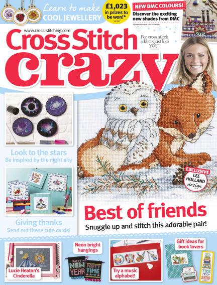 Cross Stitch Crazy November 23, 2017 00:00