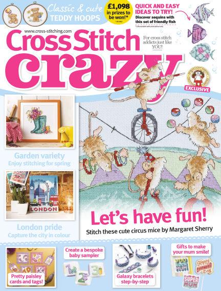 Cross Stitch Crazy January 18, 2018 00:00