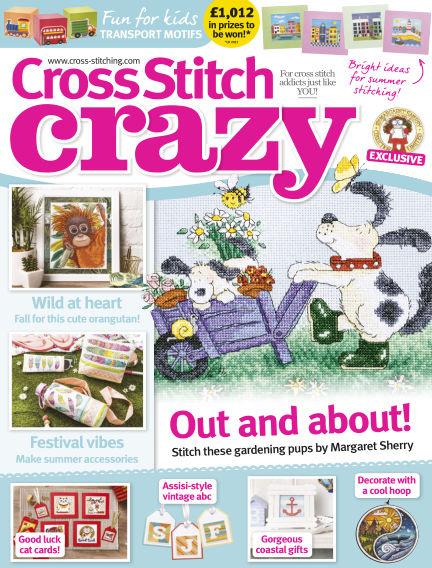 Cross Stitch Crazy June 07, 2018 00:00