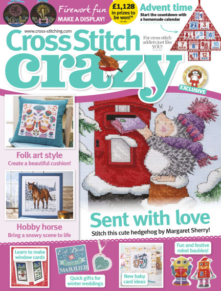Cross Stitch Crazy August 30, 2018 00:00