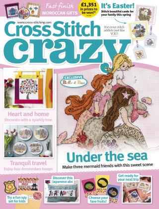 Cross Stitch Crazy May2019