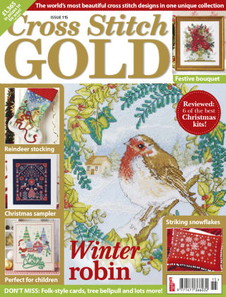 Cross Stitch Gold October 2014
