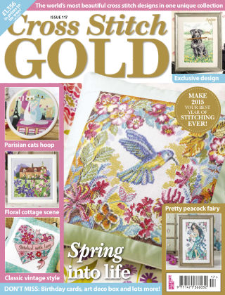 Cross Stitch Gold Jan 2015