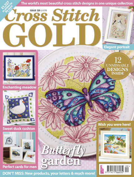 Cross Stitch Gold May 05, 2015 00:00