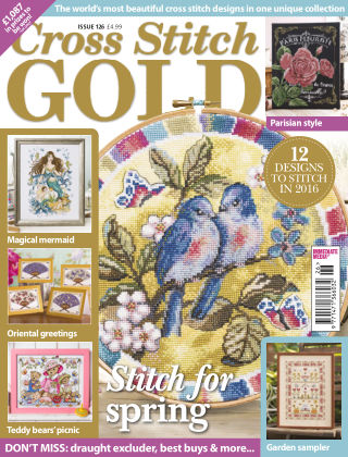 Cross Stitch Gold Jan 2016