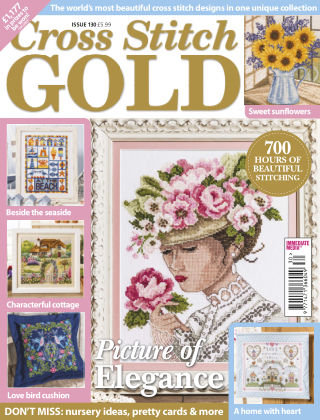 Cross Stitch Gold June 2016